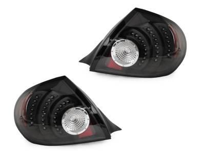 Depo - Dodge Neon Dm Black Led DEPO Tail Lights