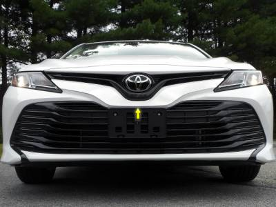 QAA - TOYOTA CAMRY 4dr QAA Stainless 1pcs Grille Accent SG18130