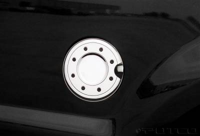 Accessories - Fuel Tank Covers - Putco - GMC Sierra Putco Fuel Tank Door Cover - 400908