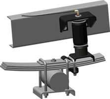 Air Suspension Parts - Air Helper Kits - Easy Street - Ride Control Air Spring Helper Kit - Rear - 59516
