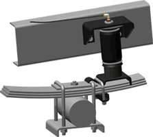 Air Suspension Parts - Air Helper Kits - Easy Street - Ride Control Air Spring Helper Kit - Rear - 59534