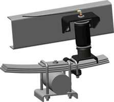 Air Suspension Parts - Air Helper Kits - Easy Street - Ride Control Air Spring Helper Kit - Rear - 59540