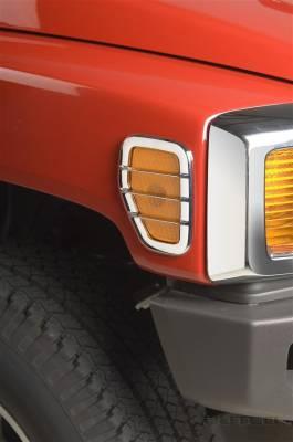Accessories - Exterior Accessories - Putco - Hummer H3 Putco Side Marker Lamp Cover - 403608