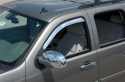 Accessories - Window Visors - Putco - Chevrolet Suburban Putco Element Chrome Window Visors - 480034