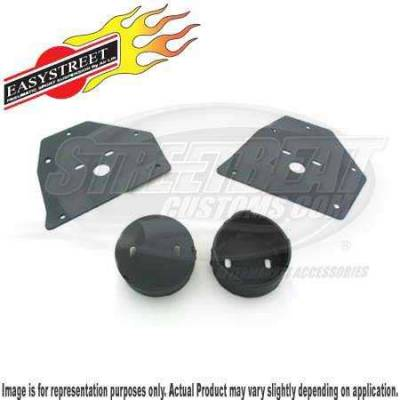 Air Suspension Parts - Air Management Kits - Easy Street - Front Air Suspension Upper and Lower Bracket Kit - 14204