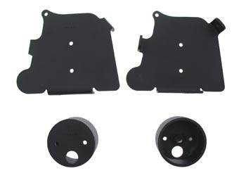 Air Suspension Parts - Air Management Kits - Easy Street - Front Air Suspension Upper and Lower Bracket Kit - 14208
