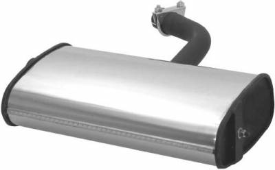 Exhaust - Mufflers - Remus - Volkswagen Golf Remus PowerSound Main Silencer - Left with Valve Control - 954003 099