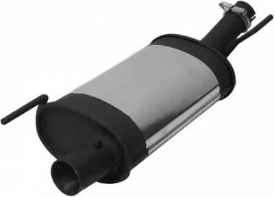 Exhaust - Mufflers - Remus - Volkswagen Golf Remus PowerSound Main Silencer - Left with Valve Control - 955592 099