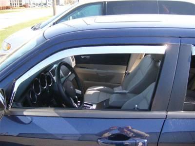 Accessories - Window Visors - Putco - Dodge Magnum Putco Element Chrome Window Visors - 480131