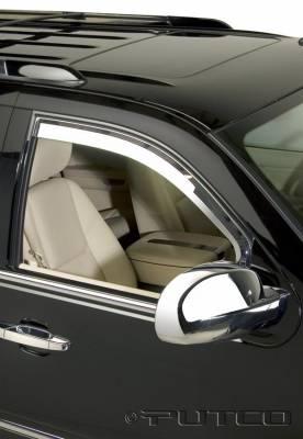 Accessories - Window Visors - Putco - Cadillac Escalade Putco Element Chrome Window Visors - 480560