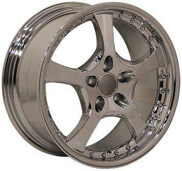 Wheels - Audi 4 Wheel Packages - EuroT - 18 440 Chrome - 4 Wheel Set