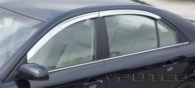Accessories - Window Visors - Putco - Hyundai Sonata Putco Element Chrome Window Visors - 480650