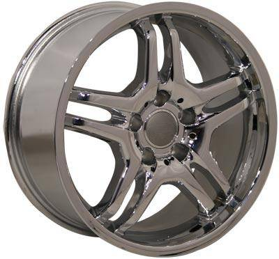 Wheels - Audi 4 Wheel Packages - EuroT - 17 In 485 Chrome - 4 Wheel Set
