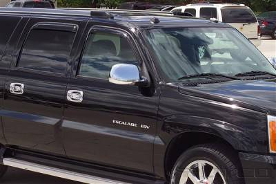 Accessories - Window Visors - Putco - Cadillac Escalade Putco Element Tinted Window Visors - 580011