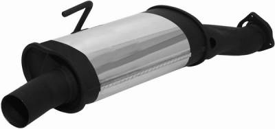 Exhaust - Mufflers - Remus - Mercedes-Benz SLK Remus Front Silencer - 508500 0300