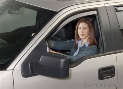 Accessories - Window Visors - Putco - Ford F150 Putco Element Tinted Window Visors - 580018