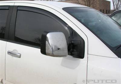 Accessories - Window Visors - Putco - Nissan Titan Putco Element Tinted Window Visors - 580023