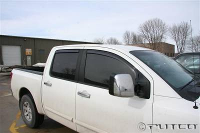 Accessories - Window Visors - Putco - Nissan Titan Putco Element Tinted Window Visors - 580024