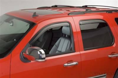Accessories - Window Visors - Putco - Chevrolet Tahoe Putco Element Tinted Window Visors - 580033
