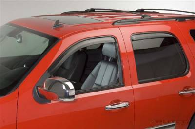 Accessories - Window Visors - Putco - GMC Yukon Putco Element Tinted Window Visors - 580033