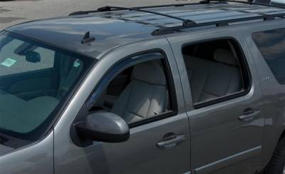 Accessories - Window Visors - Putco - GMC Sierra Putco Element Tinted Window Visors - 580034