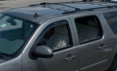 Accessories - Window Visors - Putco - GMC Sierra Putco Element Tinted Window Visors - 580055