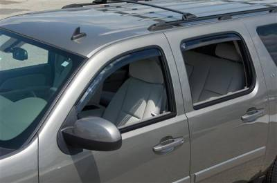 Accessories - Window Visors - Putco - Chevrolet Suburban Putco Element Tinted Window Visors - 580056