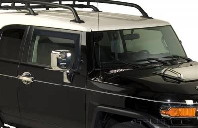 Accessories - Window Visors - Putco - Toyota FJ Cruiser Putco Element Tinted Window Visors - 580059