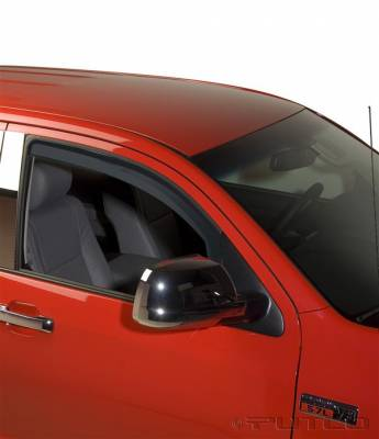 Accessories - Window Visors - Putco - Toyota Tundra Putco Element Tinted Window Visors - 580060