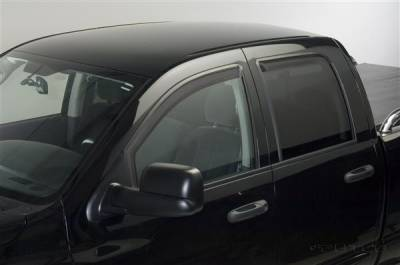 Accessories - Window Visors - Putco - Dodge Ram Putco Element Tinted Window Visors - 580102