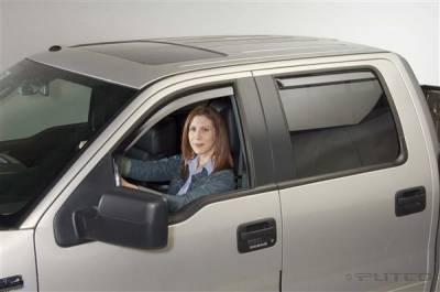 Accessories - Window Visors - Putco - Ford F150 Putco Element Tinted Window Visors - 580112