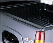 Suv Truck Accessories - Bed Rails - Deflecta-Shield - GMC Sierra Deflecta-Shield Black Diamond Wrap Side Bed Caps