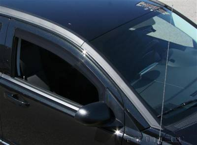 Accessories - Window Visors - Putco - Dodge Caliber Putco Element Tinted Window Visors - 580140