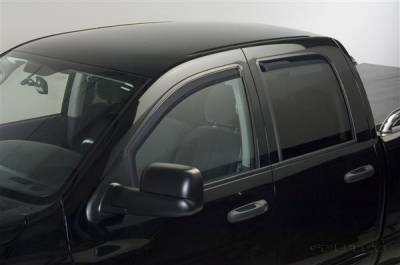 Accessories - Window Visors - Putco - Dodge Ram Putco Element Tinted Window Visors - 580178