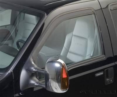 Accessories - Window Visors - Putco - Ford F350 Superduty Putco Element Tinted Window Visors - 580203