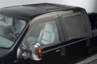 Accessories - Window Visors - Putco - Ford F350 Superduty Putco Element Tinted Window Visors - 580209