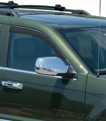 Accessories - Window Visors - Putco - Jeep Grand Cherokee Putco Element Tinted Window Visors - 580225
