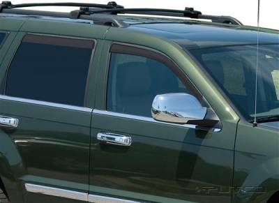 Accessories - Window Visors - Putco - Jeep Grand Cherokee Putco Element Tinted Window Visors - 580226