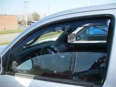 Accessories - Window Visors - Putco - Toyota Tacoma Putco Element Tinted Window Visors - 580301