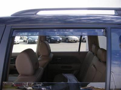 Accessories - Window Visors - Putco - Honda Pilot Putco Element Tinted Window Visors - 580402
