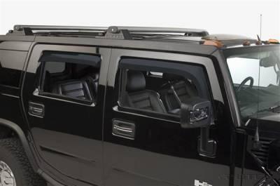 Accessories - Window Visors - Putco - Hummer H2 Putco Element Tinted Window Visors - 580502