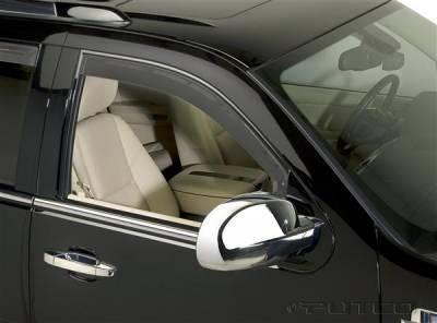 Accessories - Window Visors - Putco - Cadillac Escalade Putco Element Tinted Window Visors - 580560