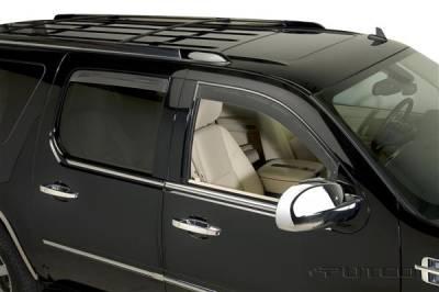 Accessories - Window Visors - Putco - Cadillac Escalade Putco Element Tinted Window Visors - 580562