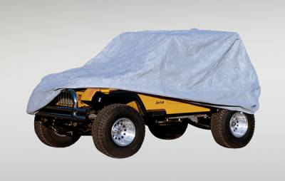 Accessories - Car Covers - Omix - Rugged Ridge Three Layer Full Cab Cover - 13321-02