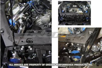 Performance Parts - Blow Off Valve - Greddy - Nissan GT-R Greddy Suction Kit - Type-1 Long - Aluminum - 12020906