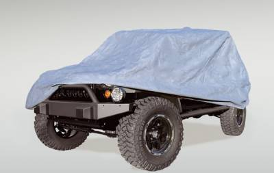 Accessories - Car Covers - Omix - Rugged Ridge Three Layer Full Car Cover - 13321-71