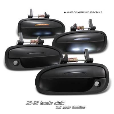 Accessories - Exterior Accessories - OptionRacing - Honda Civic Option Racing Door Handles - 31-20111