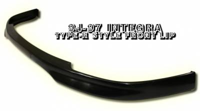 Accessories - Exterior Accessories - OptionRacing - Acura Integra Option Racing Bumper Lip - Type-R Style - 38-10101