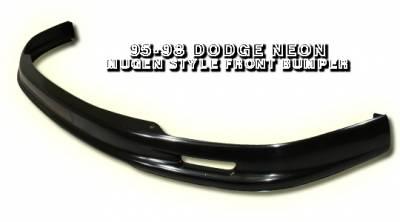 Accessories - Exterior Accessories - OptionRacing - Dodge Neon Option Racing Bumper Lip - Mugen Style - 38-17106