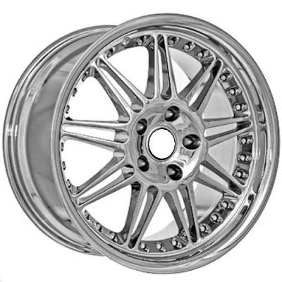 Wheels - BMW 4 Wheel Packages - Euro Styles - 840 Chrome Wheels
